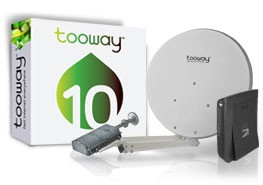 Tooway - Internet Home via satellite - BROADSAT